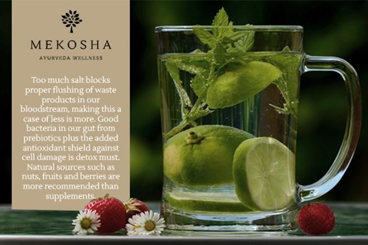 Up on Antioxidants and Prebiotics down on the salt-Mekosha