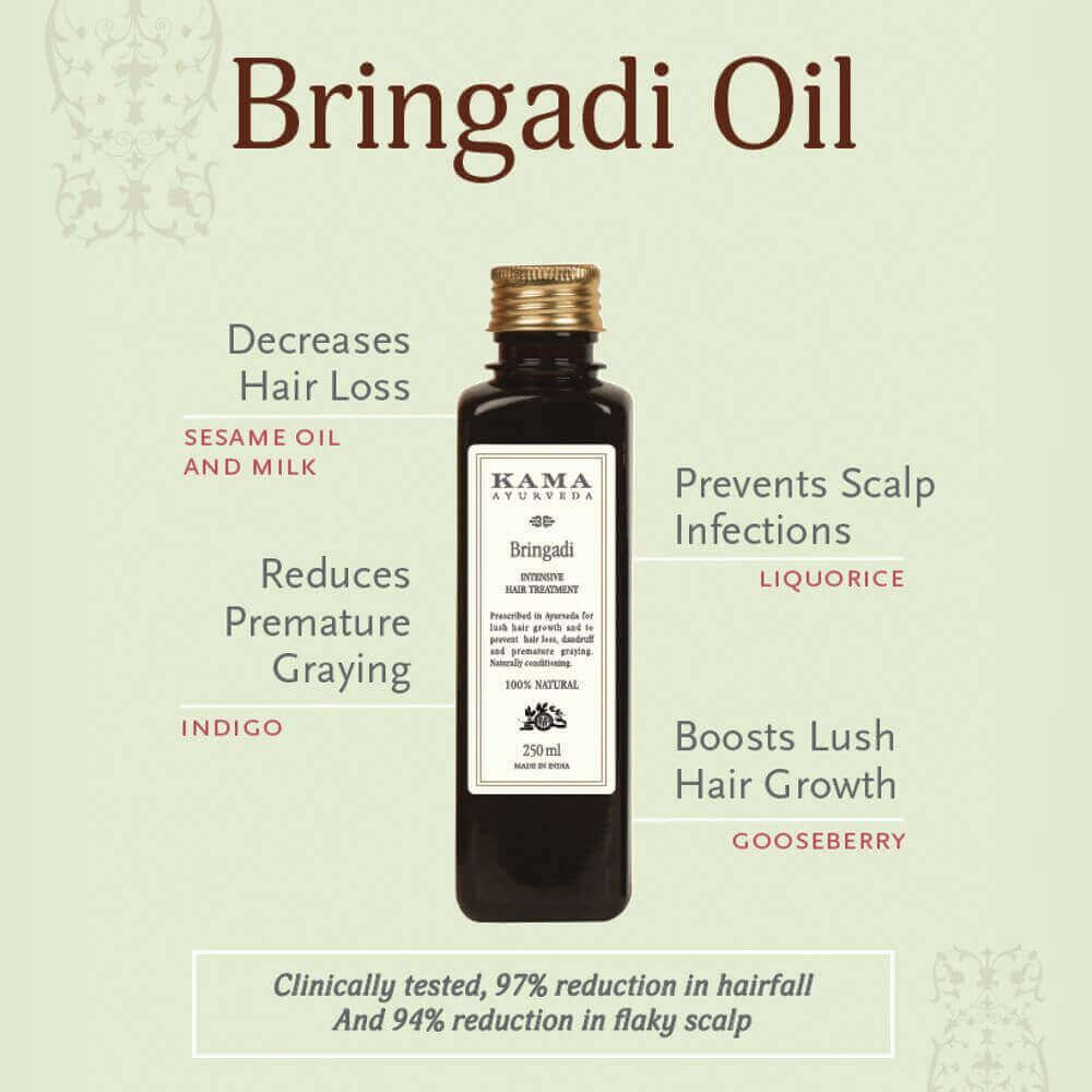 Bringadi Intensive Hair Treatment Oil Mekosha